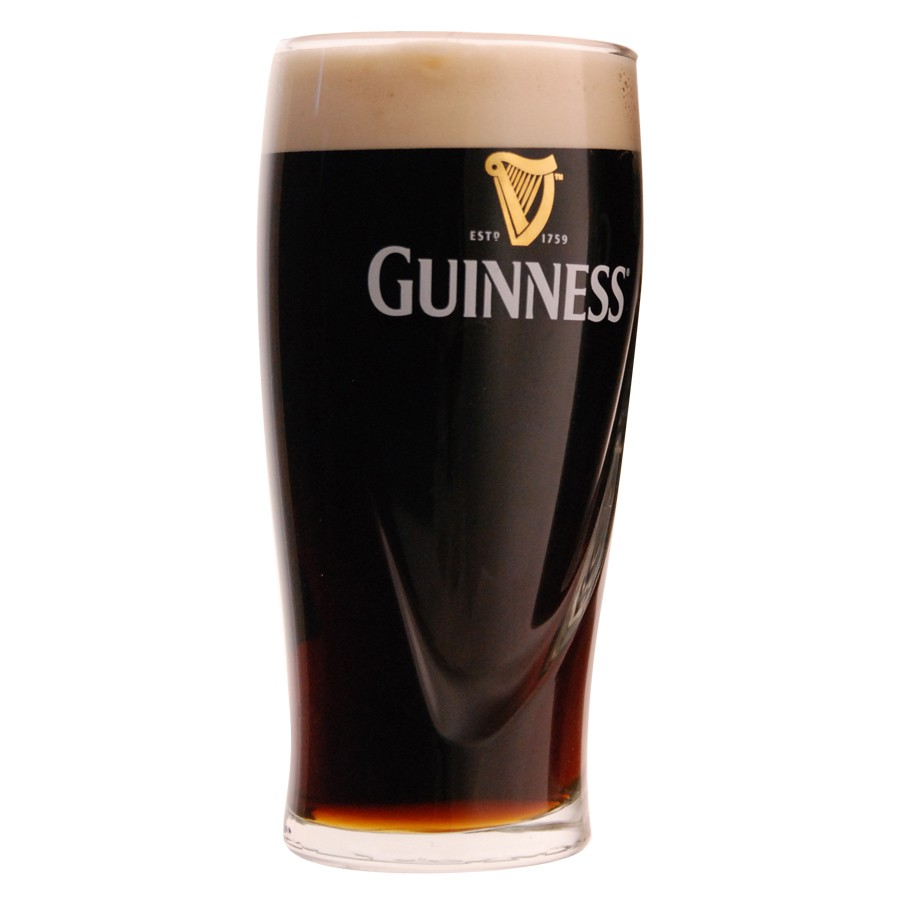 verre a biere guinness. Black Bedroom Furniture Sets. Home Design Ideas