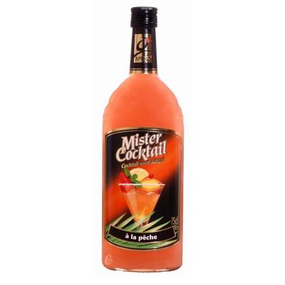 Bouteille sans alcool Mister cocktail Peche