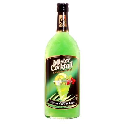 Bouteille sans alcool Mister cocktail citron vert kiwi