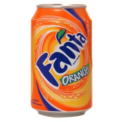 Boite Fanta Orange 33