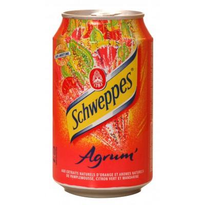 Boite Agrumes Schweppes