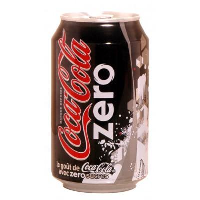 Boite ZERO Coca Cola 33