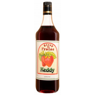 Bouteille Sirop KEDDY FRAISE - 1 L
