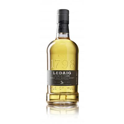 Bouteille de whisky Ledaig 10 ans 46.3° 70cl
