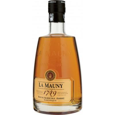 Bouteille de rhum 1749 La Mauny 40° 70cl