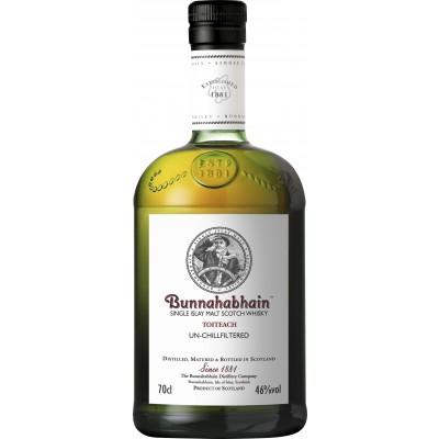Bouteille de whisky Bunnahabhain Toiteach 46° 70cl