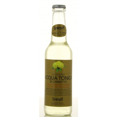 Bouteille de limonade Lurisia Acqua Tonica 33cl