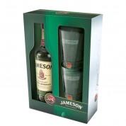 Coffret Jameson Whiskey et 2 verres (40° - 70cl.)