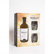 COFFRET RHUM MEZAN XO 70CL 40° ET 2 VERRES