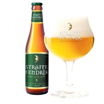 Bouteille de bière Straffe Hendrik 9°