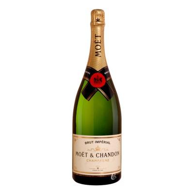 Bouteille de champagne MOET brut imperial MAGNUM 150cl