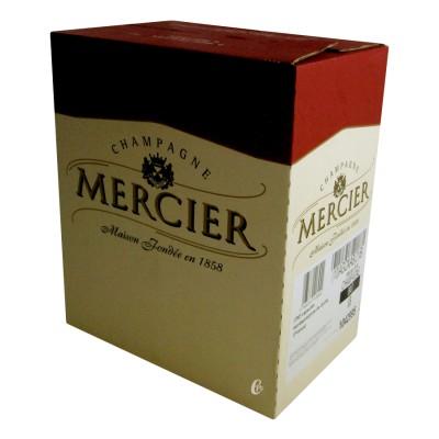 Bouteille de champagne Mercier 75cl