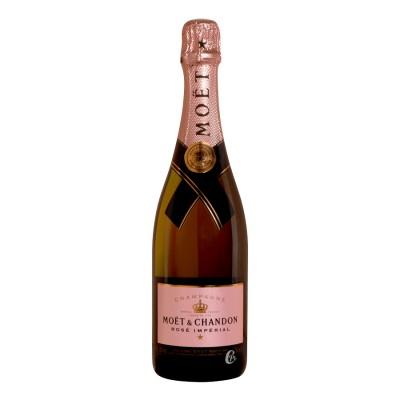 Bouteille de champagne MOET et CHANDON Rosé 75cl