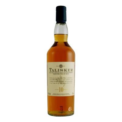 Bouteille de whisky Talisker 10 ans 45.8° 70cl