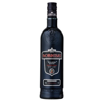 Bouteille de vodka Sobieski Dark Berry 70 cl 20°