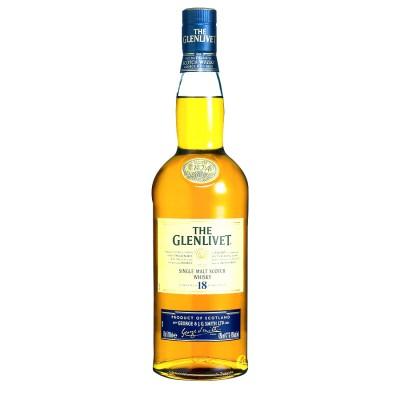 Bouteille de Whisky Glenlivet 18 ans 43° 70 cl