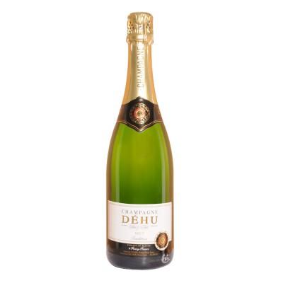 Bouteille de champagne DEHU BRUT 75cl.