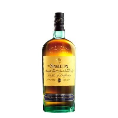 Whisky Singleton 12 ans d'ages 40° 70cl.