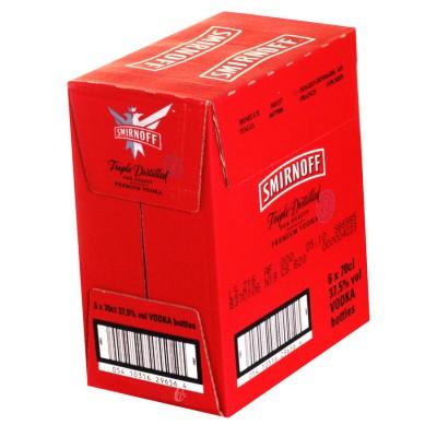 Vodka Smirnoff Red 70 cl 37.5°