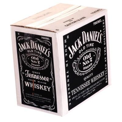 Bouteille de Whisky Jack Daniels 40°