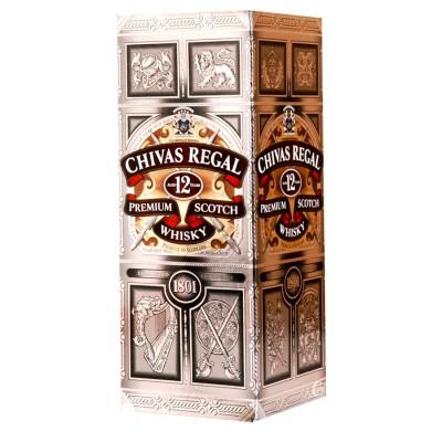 Bouteille de whisky Chivas 12 ans 70cl 40°