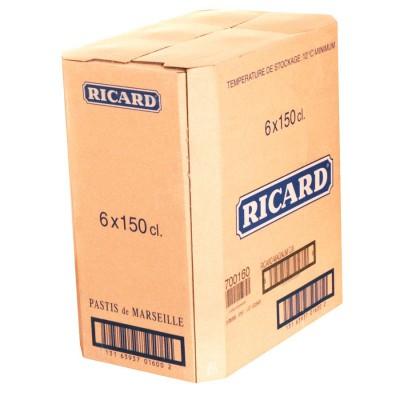 Bouteille de Ricard 45° 1.5l