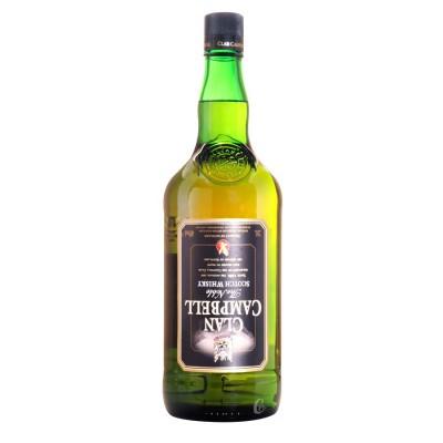 Bouteille de whisky Clan Campbell 40° 2l