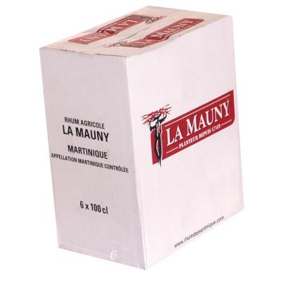 Bouteille de rhum La Mauny lit agricole de Martinique 50°