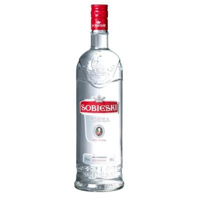Bouteille de vodka Sobieski 450cl 37.5°