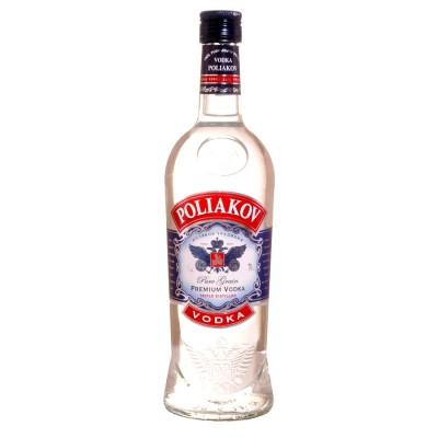 Bouteille de vodka Poliakov 37.5° 70cl.
