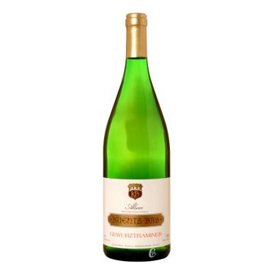 Bouteille de vin blanc KENTZ BAS Gewurztraminer 1L AOCAOC