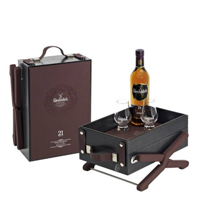 coffret whisky glenfiddich 21 ans grand reserva 2 verres de d gustation. Black Bedroom Furniture Sets. Home Design Ideas