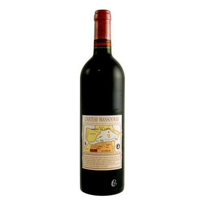 Bouteille de vin Tlemcen rouge château Mansourah – Algérie 75cl