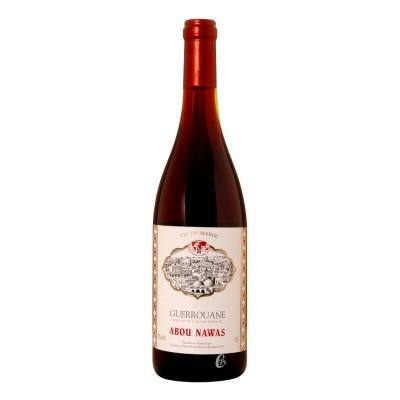 Bouteille de vin rouge GUEROUANE Abou Nawas 0,75L