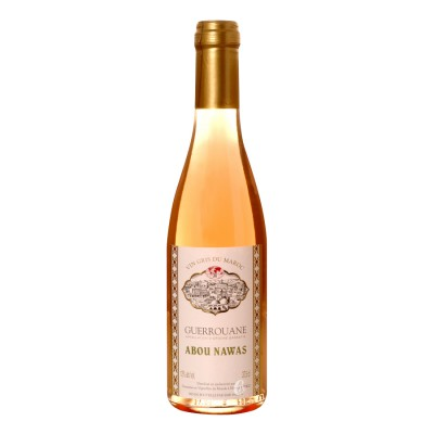 Bouteille de vin rosé GUEROUANE Abou Nawas 0,375L