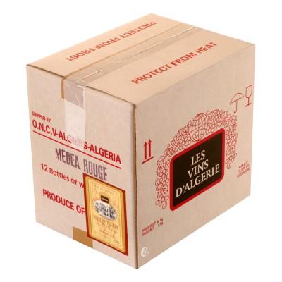 Bouteille de vin Medea rouge Chateau Tellagh Algérie 12,5%, 75cl.