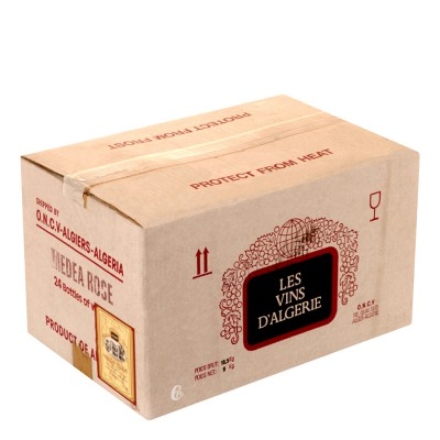 Bouteille de vin gris de Medea Chateau Tellagh Algérie
