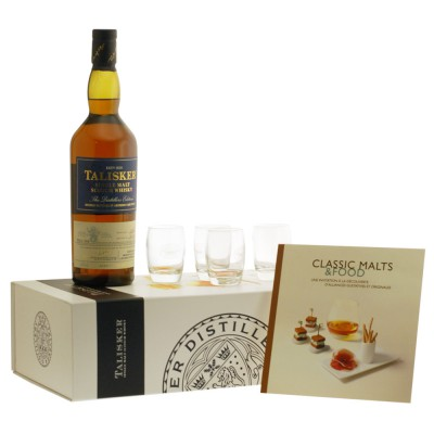 Coffret Whisky Talisker Malts & Food, Dégustation Verres