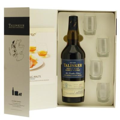 Coffret Whisky Talisker Malts & Food, Dégustation Verres