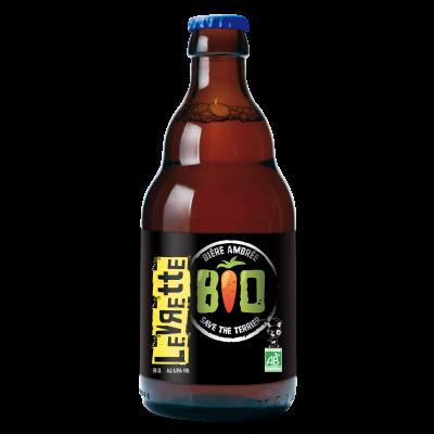 Bouteille de bière LEVRETTE AMBREE BIO 6.5°