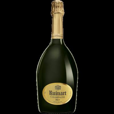 """Bouteille de champagne """"R"""" DE RUINART 75CL"""