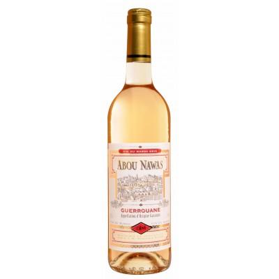 Bouteille de vin Guerouane Abou Nawas Gris Maroc