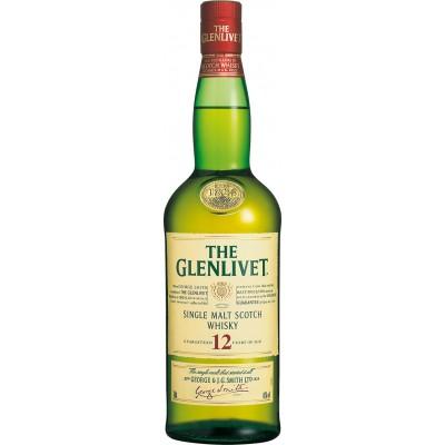 Whisky Glenlivet 12 ans 40° 70 cl - ECOSSE