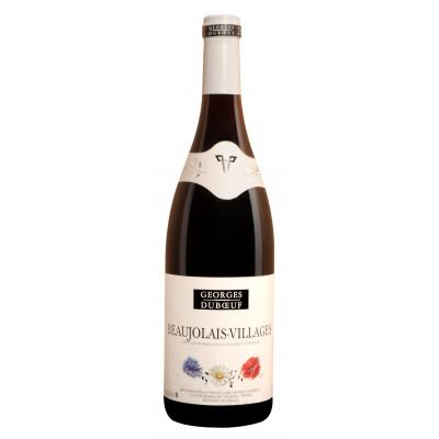 Bouteille de vin Beaujolais Villages Duboeuf rouge 75 cl