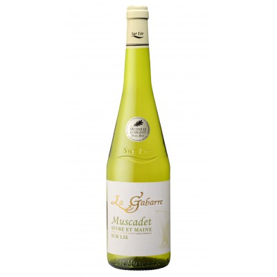 Bouteille de vin MUSCADET SUR LIE LA GABARRE VP75
