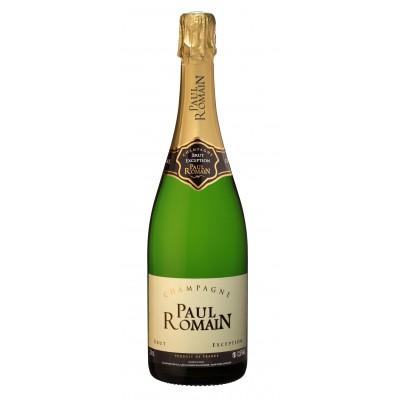 Bouteille de champagne PAUL ROMAIN BRUT 75cL