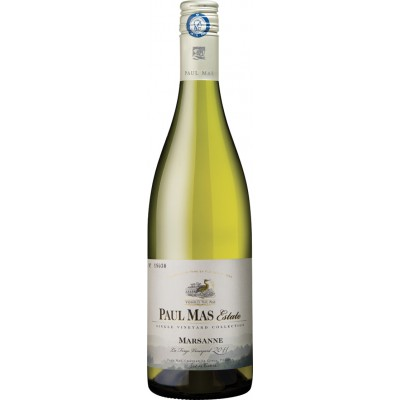 bouteille de vin blanc domaine paul mas estate marsanne 75cl. Black Bedroom Furniture Sets. Home Design Ideas