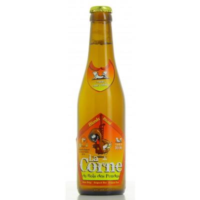 Bouteille de bière LA CORNE BLONDE 5.9°
