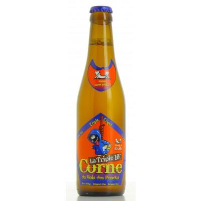 Bouteille de bière LA CORNE TRIPLE 10°