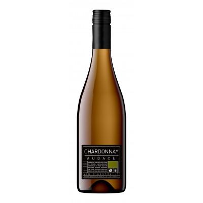 Bouteille de vin AUDACE CHARDONNAY BLANC 75CL